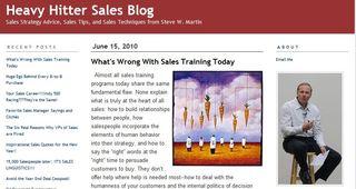 Steve W. Martin Blog