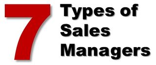 7 Types of Sales Managers - Harvard Business Review