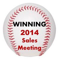 Sales Meeting Themes Baseball