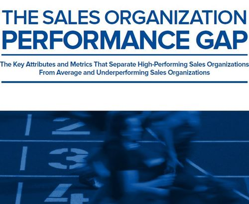 The Sales Organization Performance Gap