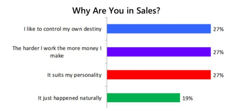 Why Are You in Sales
