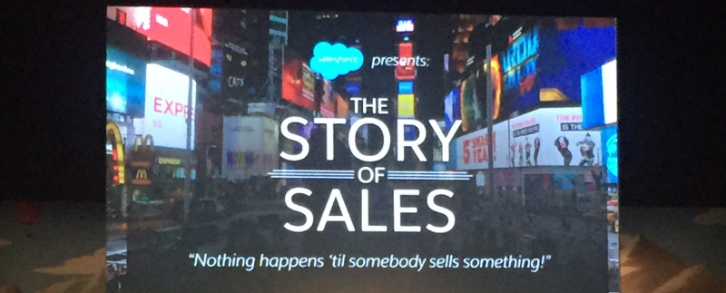 Story of sales
